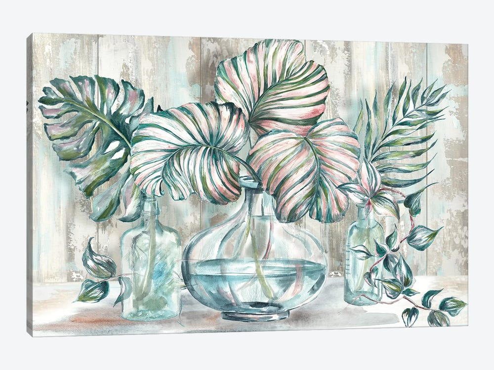 Island Tropics Still Life by Tre Sorelle Studios 1-piece Canvas Artwork