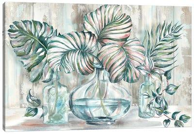 Island Tropics Still Life Canvas Art Print