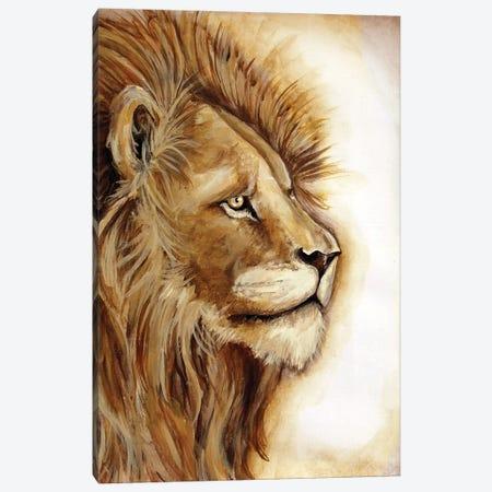 Lion Portrait Canvas Print #TSS45} by Tre Sorelle Studios Canvas Art