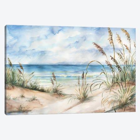 Seaview Landscape Canvas Print #TSS58} by Tre Sorelle Studios Canvas Artwork