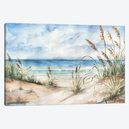 Seaview Landscape Canvas Print #TSS58} by Tre Sorelle Studios Canvas Artwork
