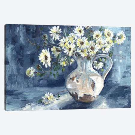 Sunshine & Daisies Landscape 3-Piece Canvas #TSS69} by Tre Sorelle Studios Canvas Print