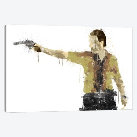 Taking Aim Canvas Print #TUD11} by 5by5collective Canvas Print