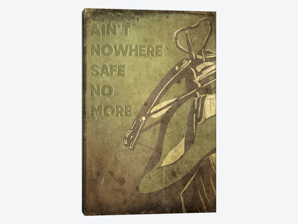 Ain't Nowhere Safe No More by 5by5collective 1-piece Canvas Print