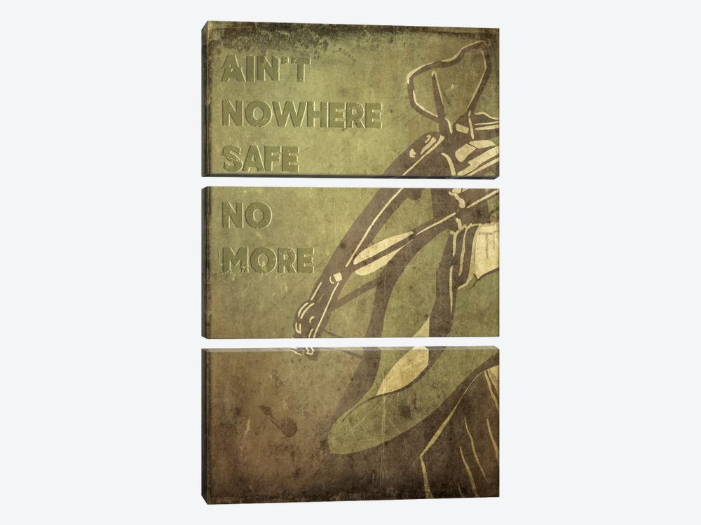 Ain't Nowhere Safe No More by 5by5collective 3-piece Art Print