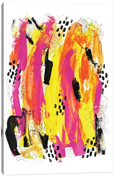 Fire Light Canvas Art Print