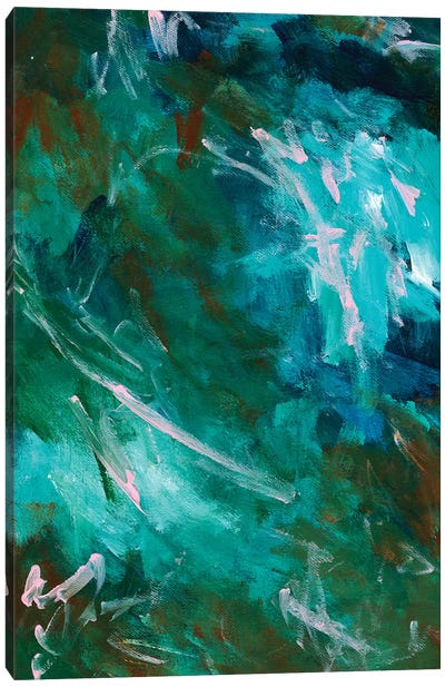 Greenery Clutter I Canvas Art Print