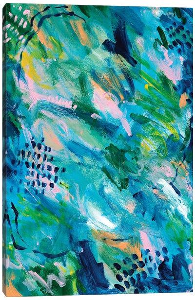 Greenery Clutter II Canvas Art Print