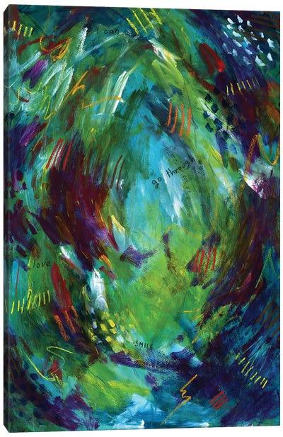 Greenery Clutter III Canvas Art Print
