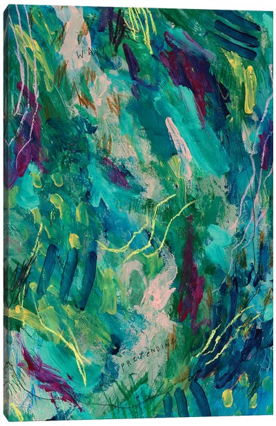 Greenery Clutter IV Canvas Art Print