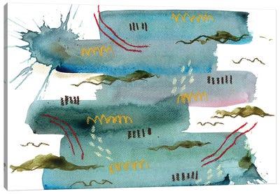 Snorkeling V Canvas Art Print
