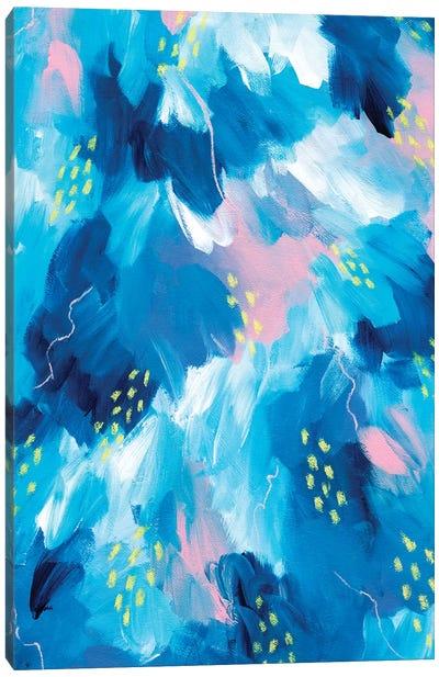 Blue Aesthetic I Canvas Art Print