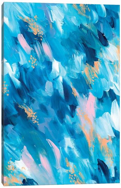 Blue Aesthetic II Canvas Art Print