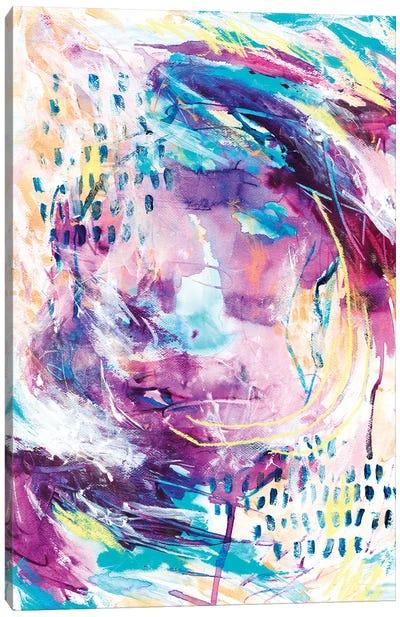 Dancing Of Grapes I Canvas Art Print