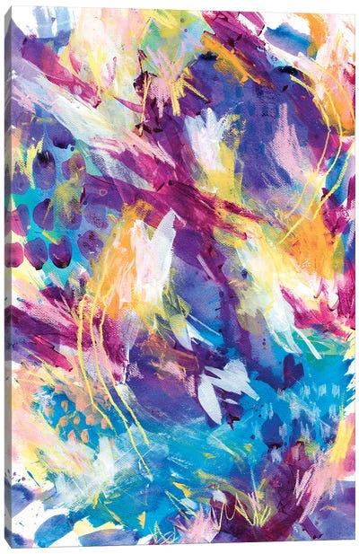 Dancing Of Grapes II Canvas Art Print