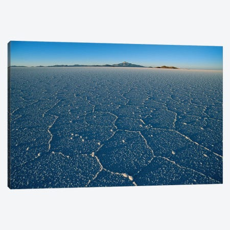 Hexagonal Crystallization Fissures, Salar de Uyuni Salt Pan, Altiplano, Potosi District, Bolivia Canvas Print #TUI48} by Tui De Roy Canvas Art Print