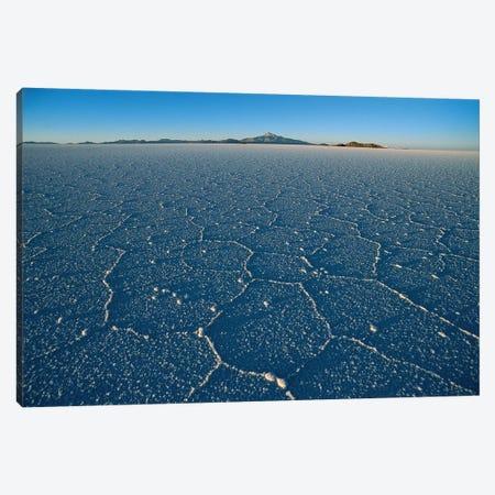 Hexagonal Crystallization Fissures, Salar de Uyuni Salt Pan, Altiplano, Potosi District, Bolivia Canvas Print #TUI48} by Tui De Roy Canvas Art Print