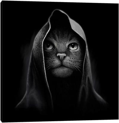 Cat Portrait Canvas Art Print