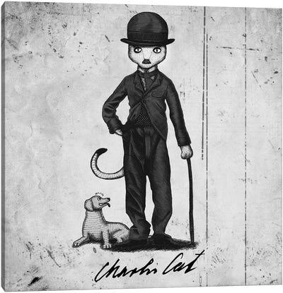 Charlie Cat Canvas Art Print