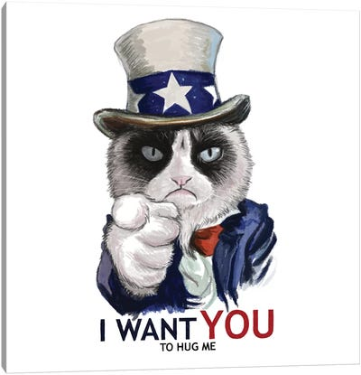 I Want You Canvas Art Print