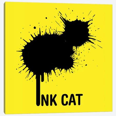 Inkcat I Canvas Print #TUM37} by Tummeow Canvas Art Print