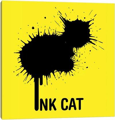 Inkcat I Canvas Art Print