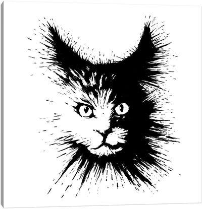 Inkcat IV Canvas Art Print