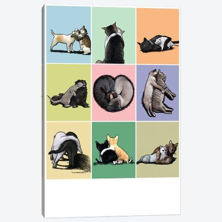 Love Canvas Print #TUM46} by Tummeow Canvas Art