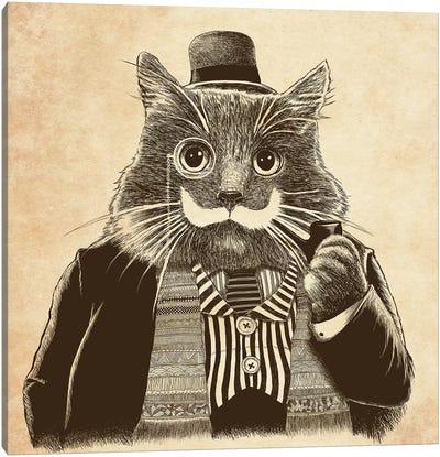 Mustache Canvas Art Print