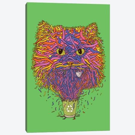 Recycle Canvas Print #TUM51} by Tummeow Canvas Artwork