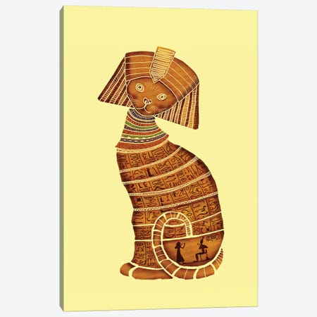 Sphinx Canvas Print #TUM53} by Tummeow Canvas Art