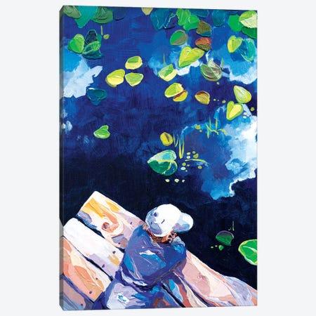 Fish, Fish, Where Do You Sleep Canvas Print #TVA13} by Anastasia Trusova Canvas Art