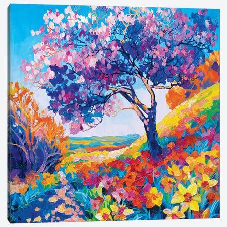Game Of The Sun Canvas Print #TVA15} by Anastasia Trusova Art Print