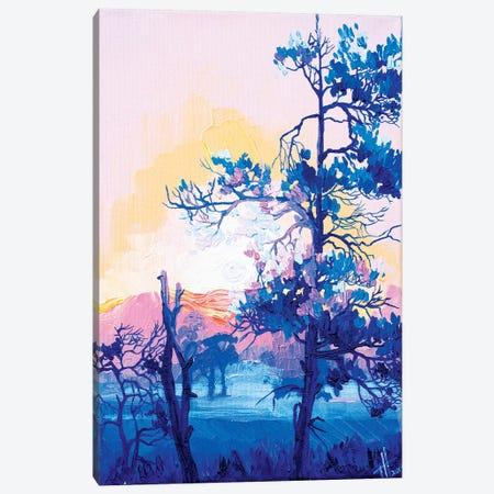 Hot Morning Canvas Print #TVA16} by Anastasia Trusova Art Print
