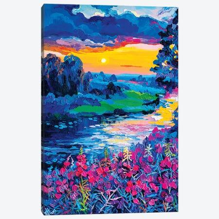 Ivan-Tea Canvas Print #TVA17} by Anastasia Trusova Canvas Art Print