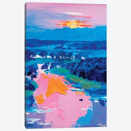Listen To Silence Canvas Print #TVA21} by Anastasia Trusova Canvas Art Print