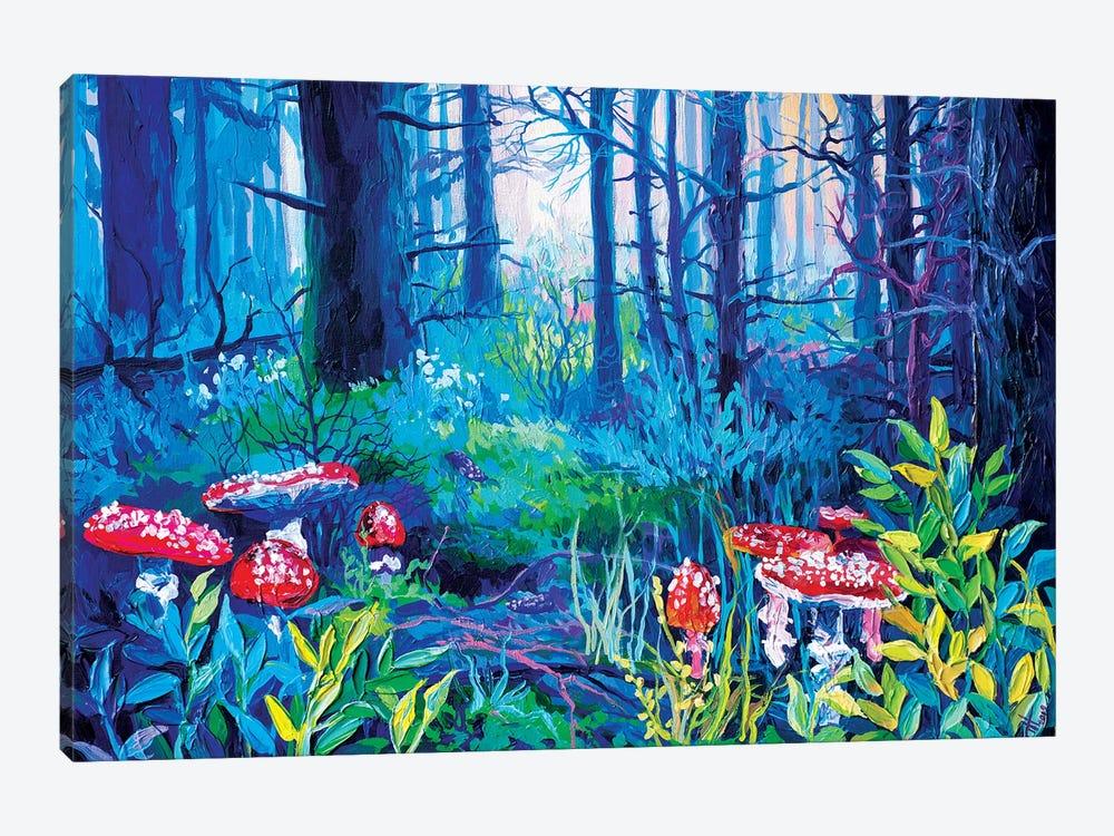 Mushrooms, But Not Those by Anastasia Trusova 1-piece Art Print