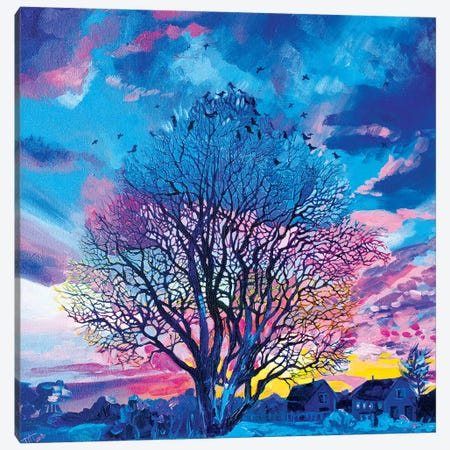 Ode To A Tree Canvas Print #TVA25} by Anastasia Trusova Canvas Wall Art