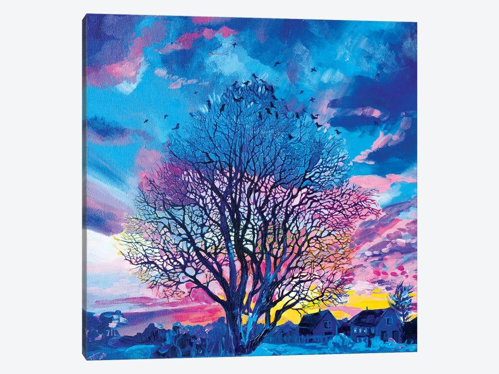 Ode To A Tree by Anastasia Trusova 1-piece Canvas Artwork