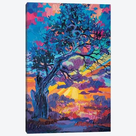 Old Oak Canvas Print #TVA26} by Anastasia Trusova Canvas Art