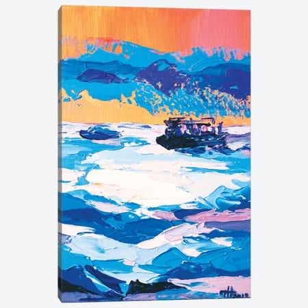 Quiet Run Canvas Print #TVA32} by Anastasia Trusova Canvas Artwork