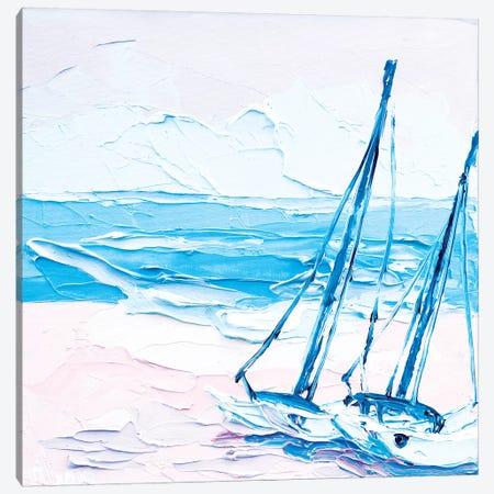 Summer Is Over 3-Piece Canvas #TVA41} by Anastasia Trusova Canvas Print