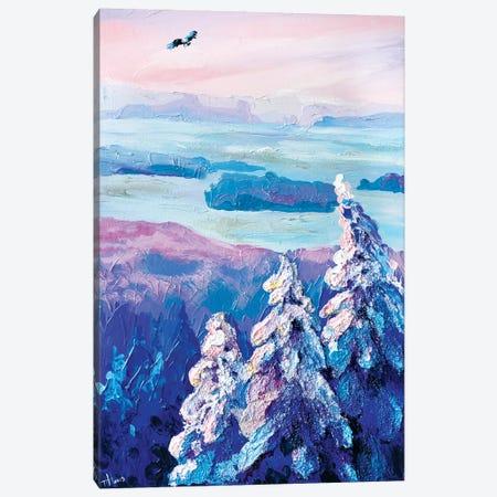 The Eagle Flies Above All Canvas Print #TVA42} by Anastasia Trusova Canvas Art Print