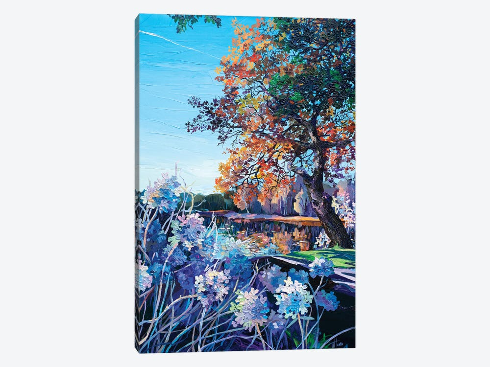 View From The Flowerbed by Anastasia Trusova 1-piece Canvas Art Print