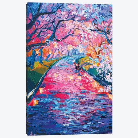 Evening Magic Canvas Print #TVA59} by Anastasia Trusova Canvas Artwork