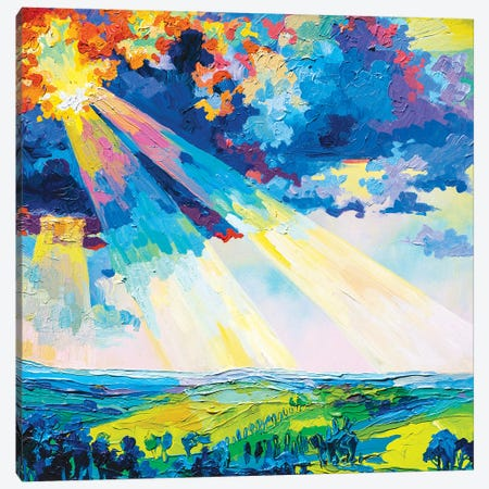 Rays Canvas Print #TVA62} by Anastasia Trusova Canvas Art Print