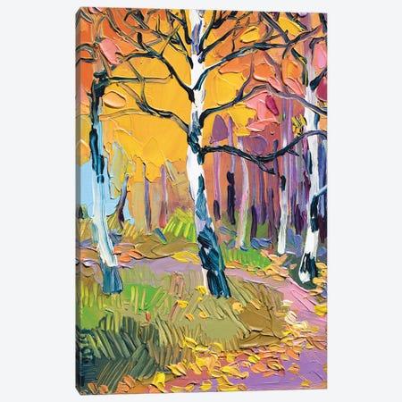 Birch Grove Canvas Print #TVA64} by Anastasia Trusova Canvas Wall Art