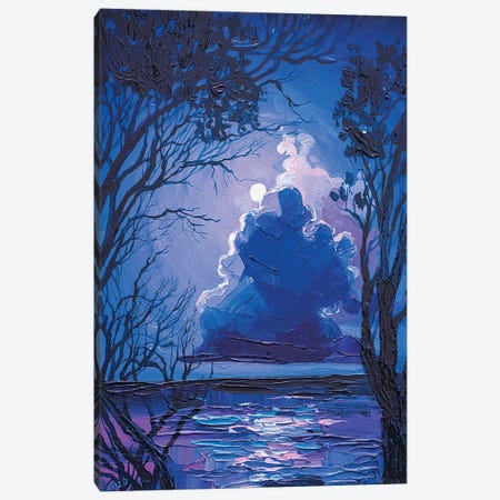 moonlight 3-Piece Canvas #TVA68} by Anastasia Trusova Canvas Art Print