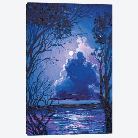 moonlight Canvas Print #TVA68} by Anastasia Trusova Canvas Art Print