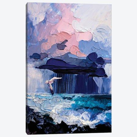 north sea Canvas Print #TVA69} by Anastasia Trusova Art Print
